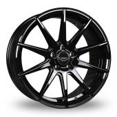 Judd T311R Gloss Black Alloy Wheels