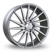 Judd T402 Silver Polished Face Alloy Wheels