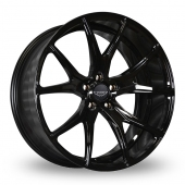 Judd T500 Gloss Black Alloy Wheels