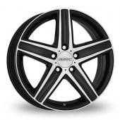 Dezent TG Matt Black Alloy Wheels
