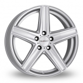 Dezent TG Silver Alloy Wheels