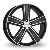 Dezent TH Matt Black Alloy Wheels