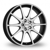 Dezent TI Matt Black Alloy Wheels