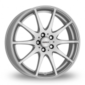 Dezent TI Silver Alloy Wheels
