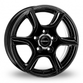 Image for Borbet TL Black Alloy Wheels