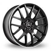 SuperMetal Trident Matt Black Alloy Wheels