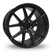 Hub Design V5 Matt Black Alloy Wheels