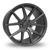 Hub Design V5 Matt Grey Alloy Wheels