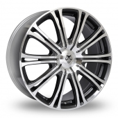 Image for Wolfrace Wolf_Design_Vermont_Sport Gun_Metal_Polished Alloy Wheels