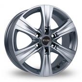 Fox Racing Viper Van 3 Silver Alloy Wheels