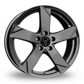 Wolfrace Kodiak Graphite Alloy Wheels