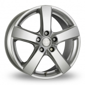 MAK Web Silver Alloy Wheels