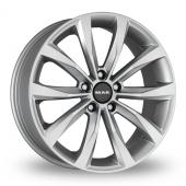 MAK Wolf Silver Alloy Wheels