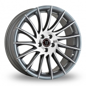 Wolfrace Aero Titanium Alloy Wheels