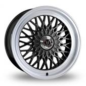 Wolfrace Classic Gloss Black Alloy Wheels