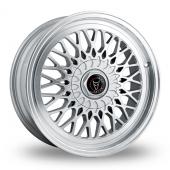 Wolfrace Classic Hyper Silver Alloy Wheels