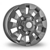 Wolfrace Explorer Gun Metal Alloy Wheels