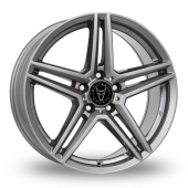 Wolfrace M10 Gun Metal Alloy Wheels