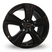 Image for Xtreme X90 Black Alloy Wheels