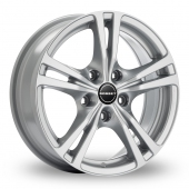Image for Borbet XLB Silver Alloy Wheels