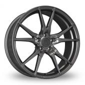 2FORGE ZF2 Matt Gun Metal Alloy Wheels