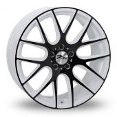 Zito ZL935 White Black Alloy Wheels