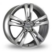 MAK Zenith Hyper Silver Alloy Wheels