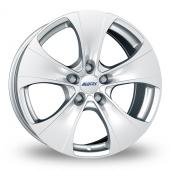 Alutec Dynamite 5 EU Silver Alloy Wheels