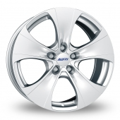 Alutec Dynamite 5 Silver Alloy Wheels