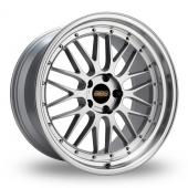 BBS Le Mans Silver Polished Alloy Wheels