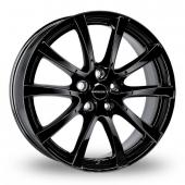 Image for Borbet LV5 Black Alloy Wheels