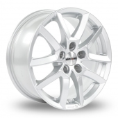 Dezent TF Silver Alloy Wheels