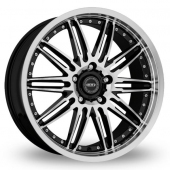Dotz Territory Black Polished Alloy Wheels