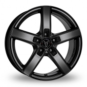 Wolfrace Emotion Black Alloy Wheels
