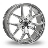 AC Wheels FF Hyper Black Alloy Wheels
