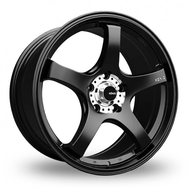 Zoom Konig Centigram_Wider_Rear Matt_Black Alloys