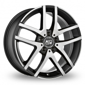 MSW (by OZ) MSW 28 Black Polished Alloy Wheels
