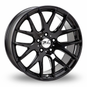 Image for Zito ZL935_5x120_Wider_Rear Black Alloy Wheels