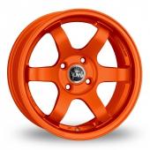 Junk De:bris Orange Alloy Wheels