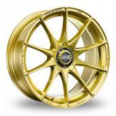 Image for OZ_Racing Formula_HLT_5_Stud Gold Alloy Wheels