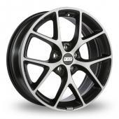 BBS SR Grey Polished Alloy Wheels