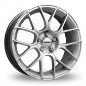 Image for Momo Raptor Hyper_Silver Alloy Wheels