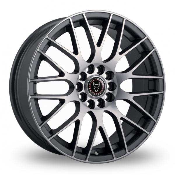 Zoom Wolfrace Bayern Gun_Metal_Polished Alloys