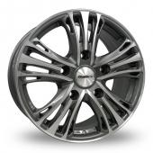 Image for Calibre Odyssey Gun_Metal_Polished Alloy Wheels