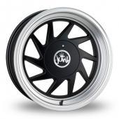 Junk Dreg Matt Black Alloy Wheels