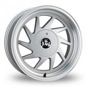 Junk Dreg Silver Alloy Wheels