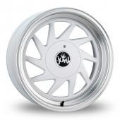 Junk Dreg White Alloy Wheels
