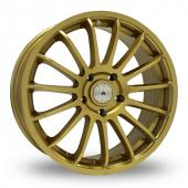 Image for ZCW ZS1 Gold Alloy Wheels
