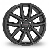 Dezent TE Matt Black Alloy Wheels