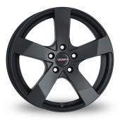 Image for Dezent TD Matt_Black Alloy Wheels